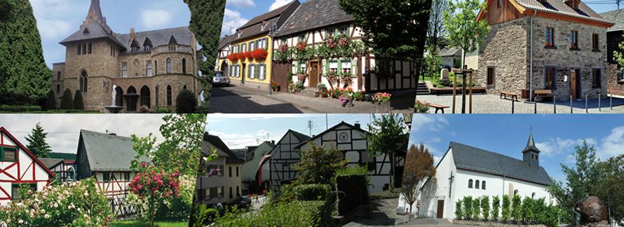 Auf dieser Seite finden Sie die Ortsteile von Sinzig.