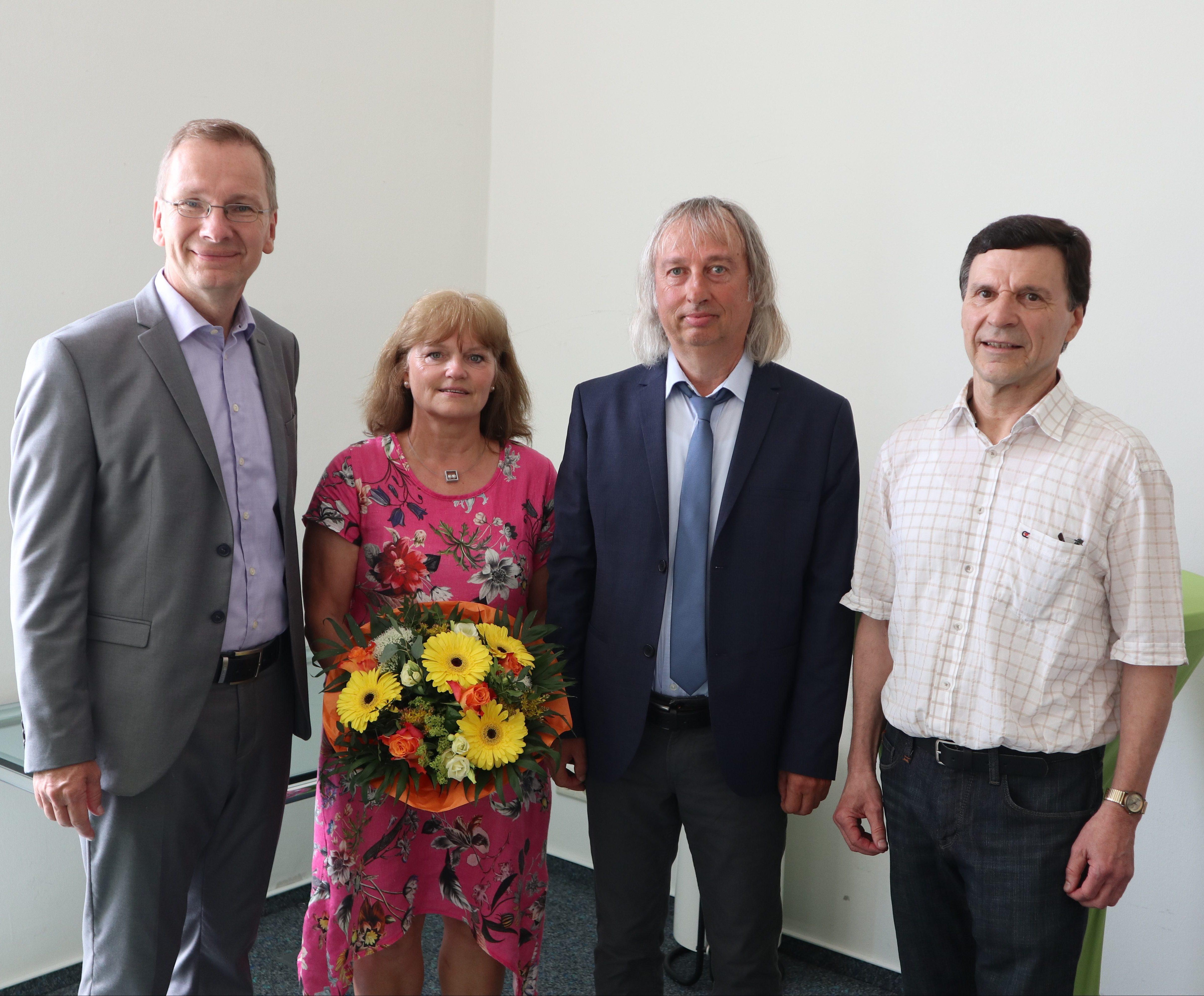 Erwin Weiß und Ludwig Moritz bei der Stadt Sinzig verabschiedet